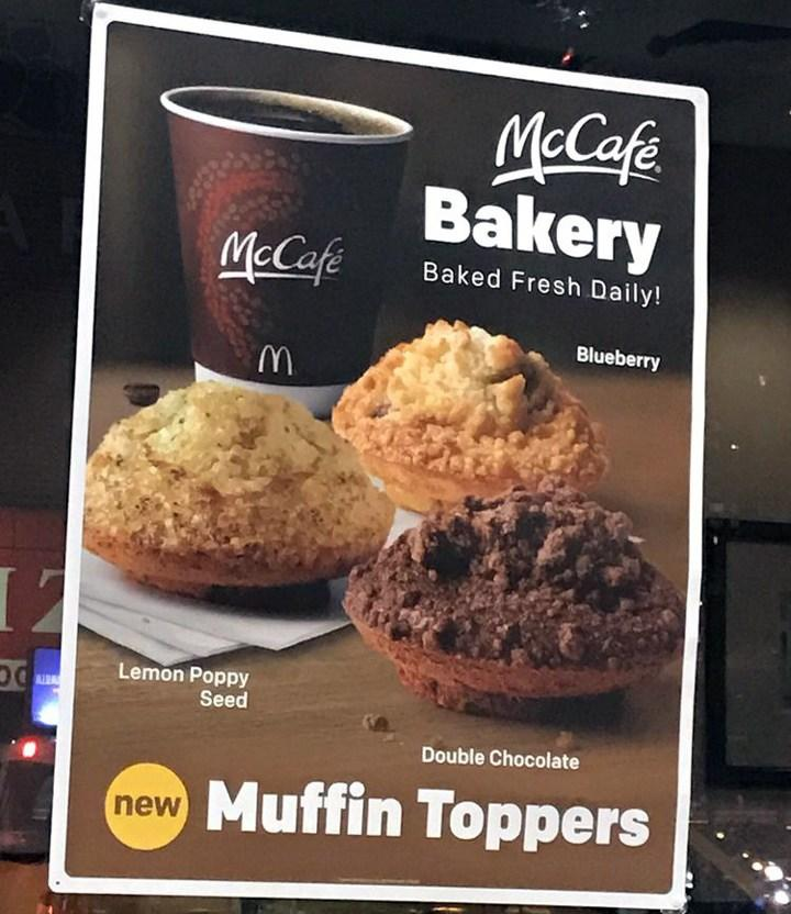 McDonalds muffin toppers