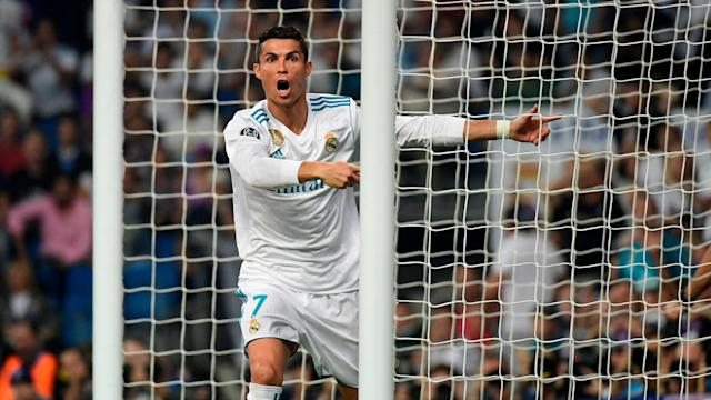 Cristiano Ronaldo Real Madrid APOEL Champions League 13092017
