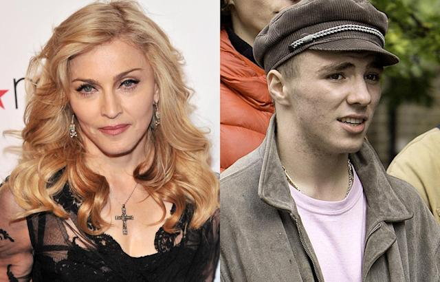"<p>Bold is the person who takes on Madonna — and her and Guy Ritchie's son fits into the category. He decided that he wanted to live with his English director dad instead and just didn't come home after a visit. A <a href=""https://www.yahoo.com/news/guy-ritchie-wins-rocco-custody-battle-against-110410236.html"" data-ylk=""slk:settlement was reached in court,;outcm:mb_qualified_link;_E:mb_qualified_link"" class=""link rapid-noclick-resp newsroom-embed-article"">settlement was reached in court,</a> and while the terms weren't made public, Rocco has been working on his British accent ever since. He does see his mom now and then, though, like when he accompanied her to Malawi — with several other siblings — last year. (Photos: Getty Images) </p>"