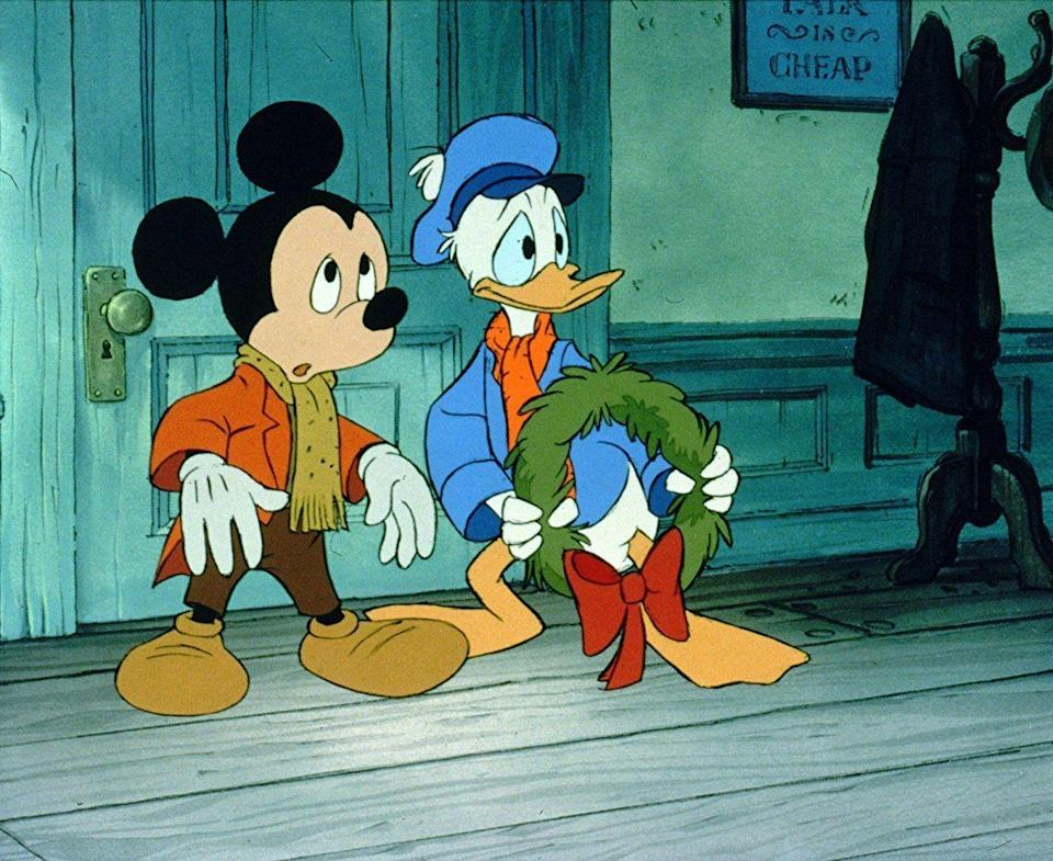 <p>Okay, so this one wasn't exactly a full movie, but its home release made it feel like one. The Disney-fied version of Charles Dickens's novel was put out as a sort of double feature alongside a theatrical re-release of 1977's <em>The Rescuers</em>. It's longer than a typical short at 26 minutes, and to many, an annual viewing is a holiday staple.</p>