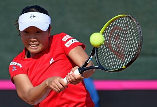 Kurumi Nara replaced Naomi Osaka for the singles against Spain but lost to Carla Suarez as Japan were eliminated in the Fed Cup