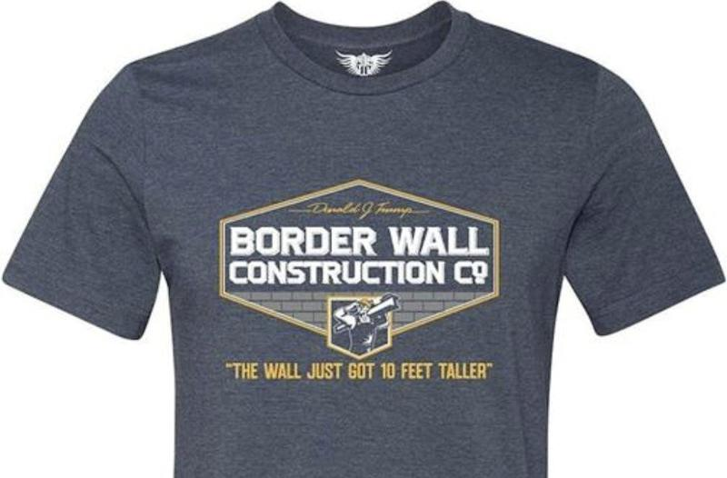 Pro-Trump border wall T-shirt