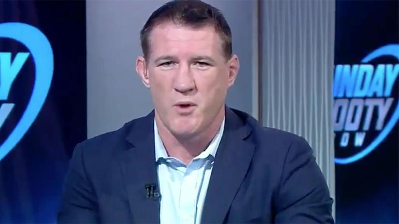 Pictured here, Paul Gallen doesn't think the NRL's player quarantine plan would work.