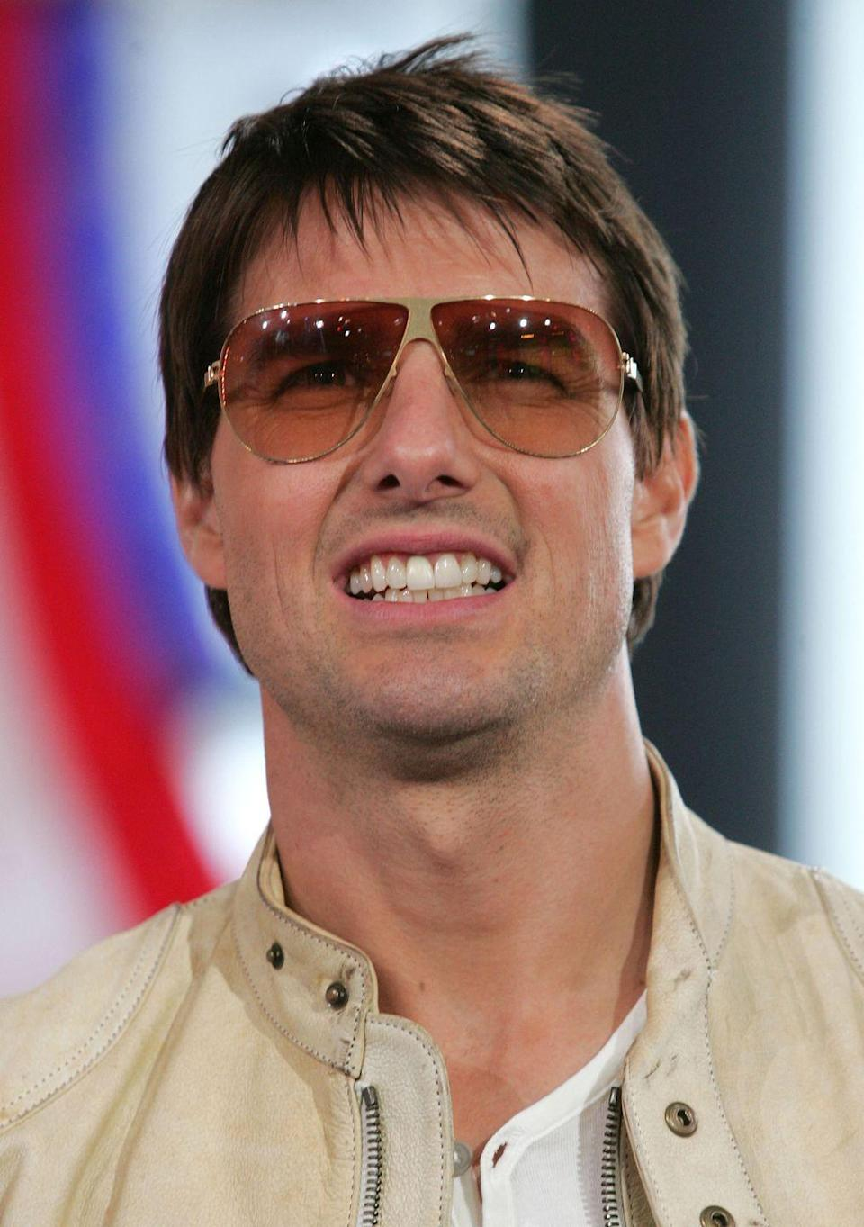 <p>Tom Cruise making this face at <em>TRL</em> = how I feel about finding pictures of Tom Cruise making this face on <em>TRL</em>.</p>