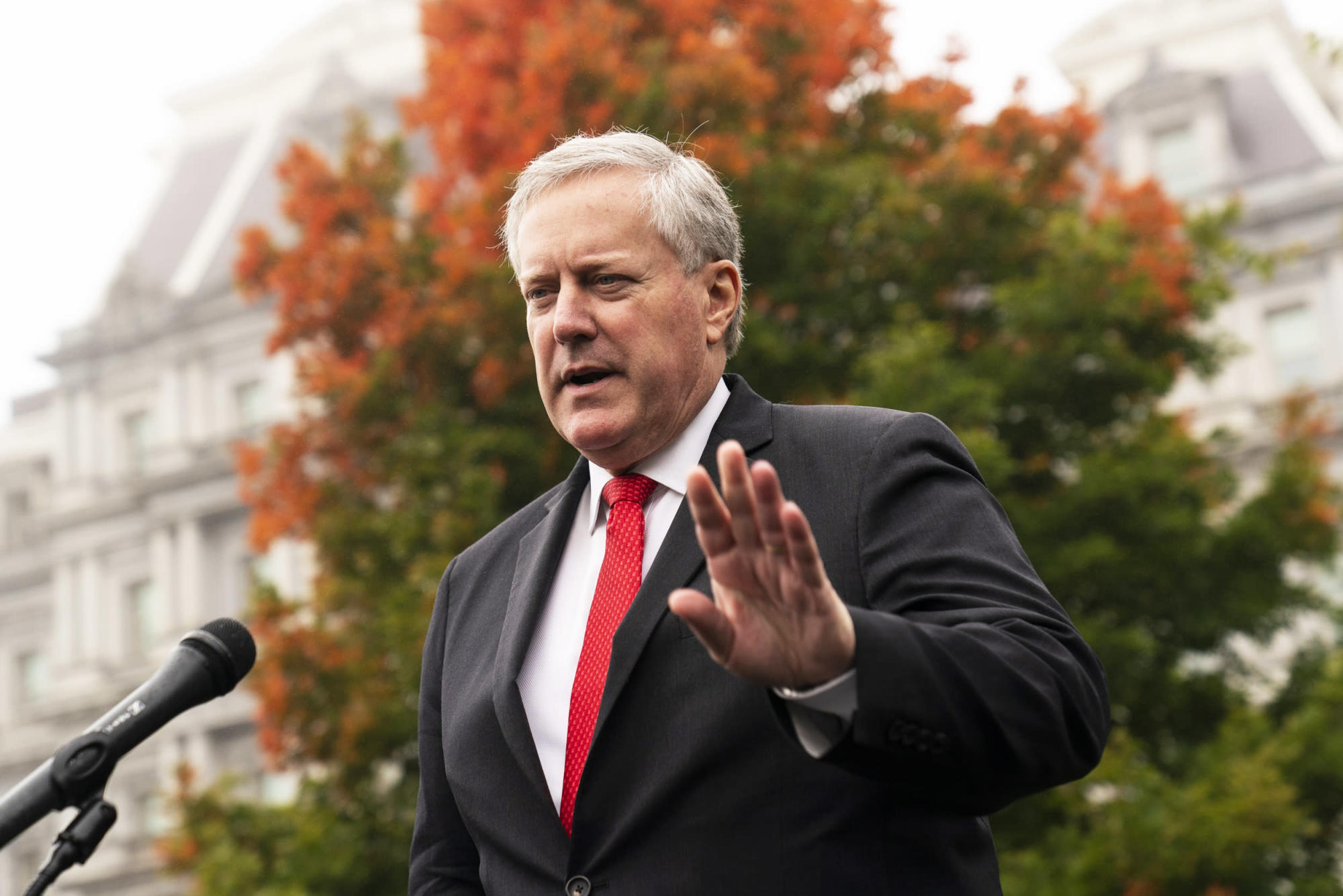 Meadows says 'we're not going to control the pandemic' in heated interview