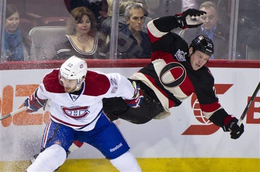 Canadiens' Desharnais scores in regulation and SO