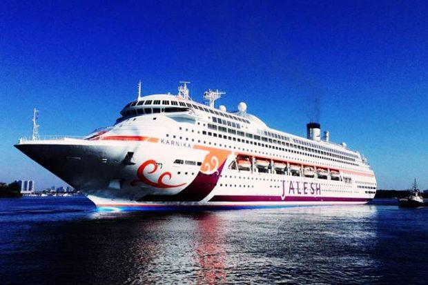 Jalesh cruise, cruise Jalesh Mumbai, cruise ship from Mumbai, Jalesh price, Mumbai cruise prices, Karnika cruise