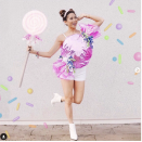 """<p>Looking for a super sweet costume idea? Cut a circle out of craft foam, then wrap it in colored cellophane. Cinch each side with multi-colored curly ribbon. </p><p><a class=""""link rapid-noclick-resp"""" href=""""https://www.instagram.com/p/B4SdCNJhxoj/"""" rel=""""nofollow noopener"""" target=""""_blank"""" data-ylk=""""slk:SEE MORE"""">SEE MORE</a></p><p><a class=""""link rapid-noclick-resp"""" href=""""https://www.amazon.com/Linenspa-Density-Cushion-Craft-Perfect-Headboards-Projects/dp/B07VQJ7HNC/?tag=syn-yahoo-20&ascsubtag=%5Bartid%7C10072.g.33547559%5Bsrc%7Cyahoo-us"""" rel=""""nofollow noopener"""" target=""""_blank"""" data-ylk=""""slk:SHOP CRAFT FOAM"""">SHOP CRAFT FOAM</a></p>"""