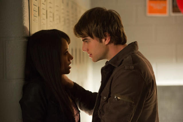"""A View to a Kill"" -- Kat Graham as Bonnie and Nathaniel Buzolic as Kol"