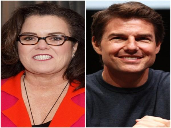 Rosie O'Donnell and Tom Cruise