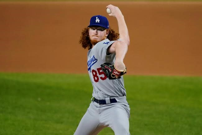 Texas natives Minter for Braves, May for Dodgers in NLCS G5