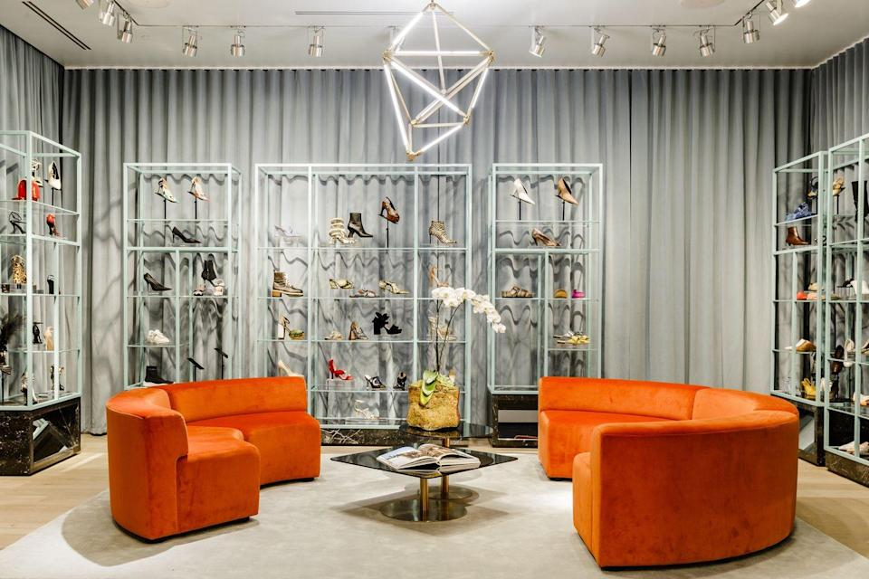 """<p>Dallas is not only a mecca for design enthusiasts and second-gunman theorists, but also for high-end shopping. (It is the birthplace of Neiman Marcus, after all.) Last November, <a href=""""https://fortyfiveten.com/password"""" rel=""""nofollow noopener"""" target=""""_blank"""" data-ylk=""""slk:Forty Five Ten"""" class=""""link rapid-noclick-resp"""">Forty Five Ten</a>, an expertly edited multibrand fashion boutique that was founded in 2000 by Brian Bolke and Shelly Musselman, reopened after a long pandemic shutdown. </p>"""