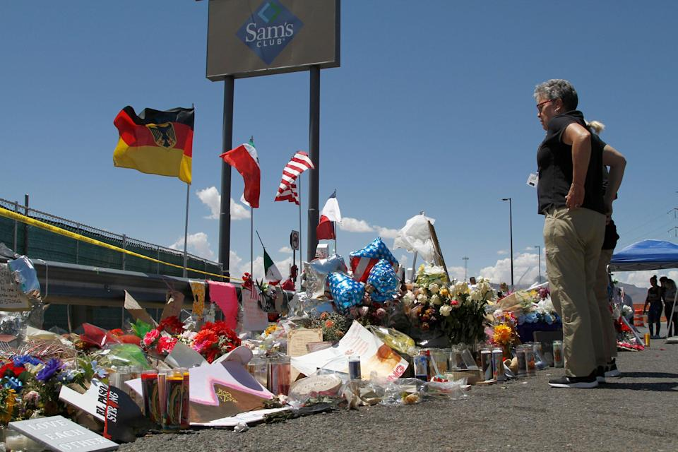 El Paso Shooting Anniversary (Copyright 2019 The Associated Press. All rights reserved.)