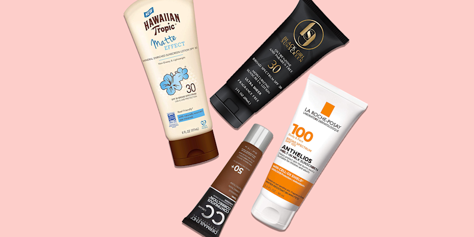 """<p class=""""body-tip""""><strong><em>An important note on sunscreen safety: </em></strong><em>The <a href=""""https://www.goodhousekeeping.com/health/a26470685/fda-sunscreen-regulations/"""" rel=""""nofollow noopener"""" target=""""_blank"""" data-ylk=""""slk:FDA is proposing changes to sunscreen regulations"""" class=""""link rapid-noclick-resp"""">FDA is proposing changes to sunscreen regulations</a>, as some active ingredients can enter the bloodstream. Until it can reach a more robust conclusion on safety, <a href=""""https://www.fda.gov/drugs/understanding-over-counter-medicines/sunscreen-how-help-protect-your-skin-sun"""" rel=""""nofollow noopener"""" target=""""_blank"""" data-ylk=""""slk:the FDA"""" class=""""link rapid-noclick-resp"""">the FDA</a> — and the Good Housekeeping Institute Beauty Lab — urges Americans to continue using mineral and chemical sunscreen to protect against UV damage.</em><br></p><p>You've heard it time and time again: Daily <a href=""""https://www.goodhousekeeping.com/beauty/anti-aging/a30933790/how-to-apply-sunscreen/"""" rel=""""nofollow noopener"""" target=""""_blank"""" data-ylk=""""slk:application of sunscreen"""" class=""""link rapid-noclick-resp"""">application of sunscreen</a> is non-negotiable and that goes for all skin tones. The problem is too many sunscreens don't exactly work for darker skin tones. Yes, we all know it too well: you apply <a href=""""https://www.goodhousekeeping.com/beauty/anti-aging/g1288/best-sunscreens/"""" rel=""""nofollow noopener"""" target=""""_blank"""" data-ylk=""""slk:sunscreen"""" class=""""link rapid-noclick-resp"""">sunscreen</a> only to look in the mirror to find that odd, white-ish gray film all over because the formula wasn't made to blend into melanin-rich skin. And the truth is, this shouldn't be the case. An unfortunate effect of this problem is that people with brown skin tend to just skip sunscreen altogether, but according to experts that's a big no-no. </p><p>""""People with dark skin should still use sunscreen regularly,"""" says <a href=""""https://brownderm.org/doctor/tiffany-jow-libby-md/"""" rel=""""nofollow noopen"""
