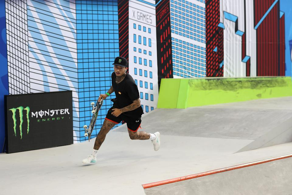 Nyjah Huston at the 2019 X Games