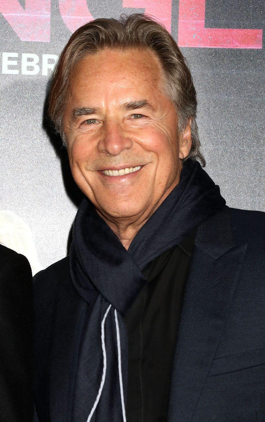 <p>During the '90s, Don again fought crime as the lead in <em>Nash Bridges</em> from 1996 until 2001. While he's traded in his pastel blazers for chic scarves, we still think he's a silver fox.</p>