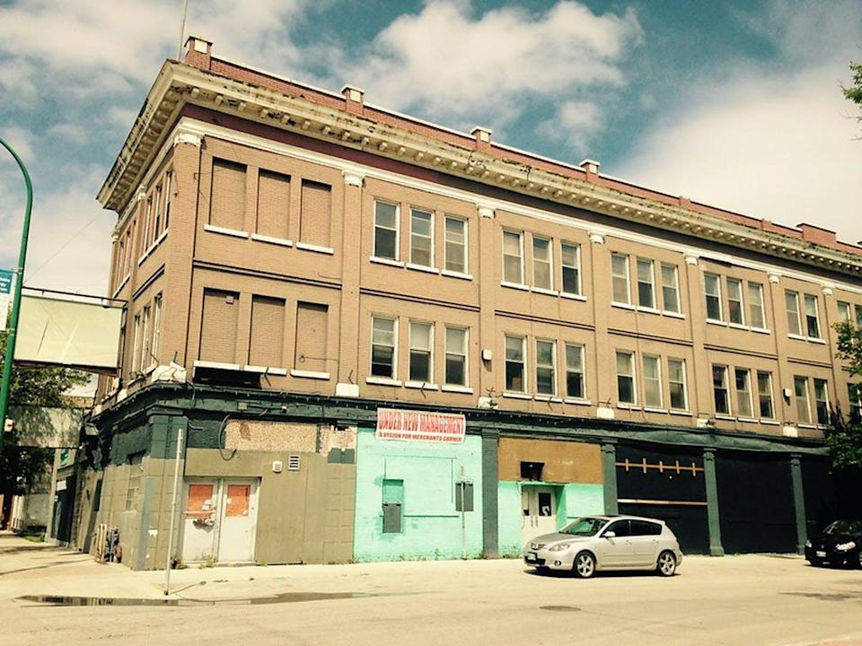 """<span class=""""caption"""">The Merchants Hotel in July 2015.</span> <span class=""""attribution""""><span class=""""source"""">(University of Winnipeg/Flickr)</span>, <a class=""""link rapid-noclick-resp"""" href=""""http://creativecommons.org/licenses/by-nc-nd/4.0/"""" rel=""""nofollow noopener"""" target=""""_blank"""" data-ylk=""""slk:CC BY-NC-ND"""">CC BY-NC-ND</a></span>"""