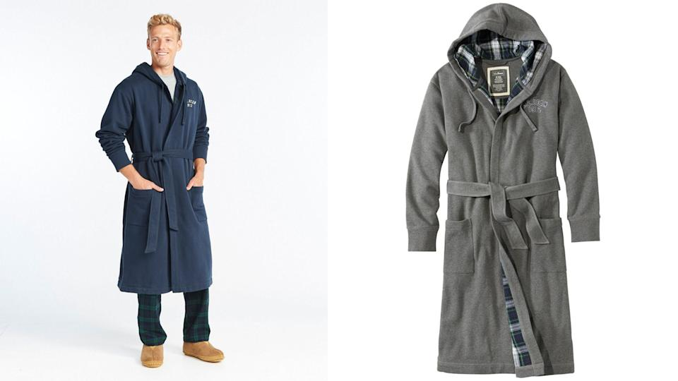Best gifts for grandpa 2020: L.L. Bean Rugby Robe