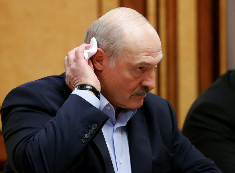 In Belarus, some don't wait for Lukashenko to start worrying about coronavirus