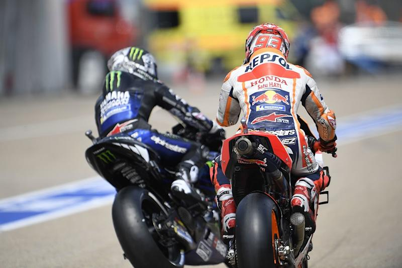 Yamaha riders now Marquez's rivals, not Ducati