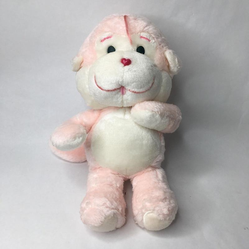 'VTG Care Bears Cousins Pink Monkey One Of A Kind 1983 PROTOYPE Plush Animal' which sold on eBay for US $10,000 on 23 October 2018. (Source: carebear.collectionhero.com)