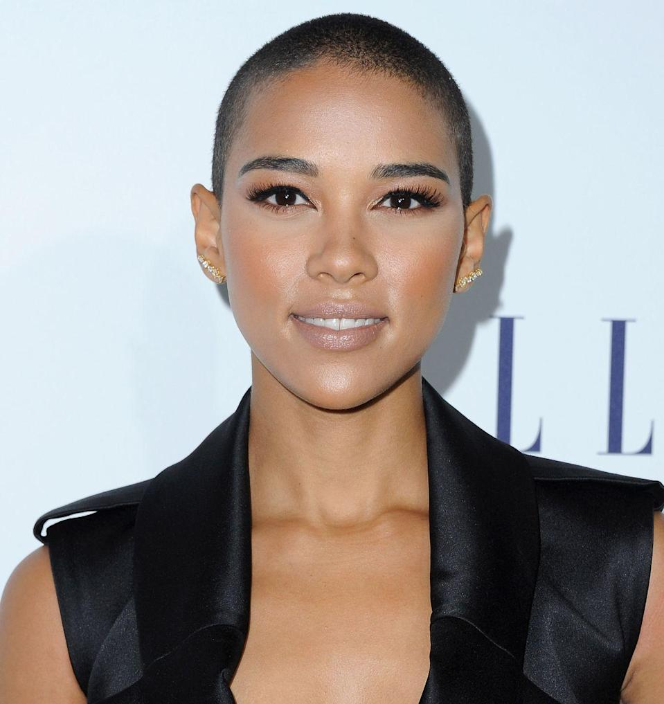 <p>Buzz cuts aren't for the faint of heart, but if you're daring enough to sport the look, kudos to you. Actress <strong>Alexandra Shipp</strong> makes this simple style look edgy, yet still feminine. </p>