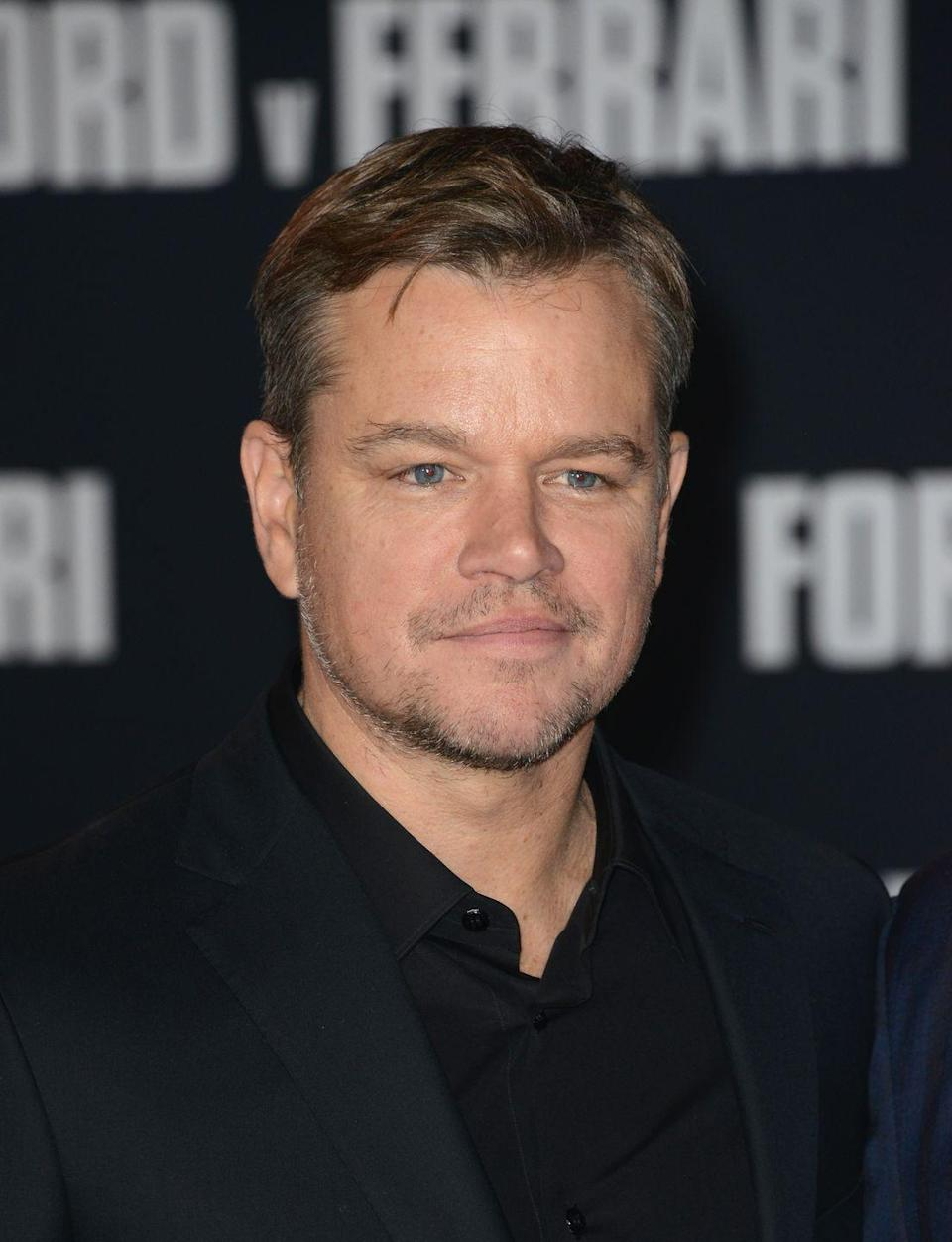 <p><strong>Hair</strong></p><p>Matt Damon's hair choices have been pretty consistent over the years, just like his reign in Hollywood. </p>