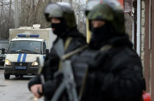 Two blasts outside police station in south Russia: police