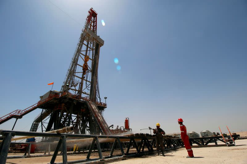 Iraq emerging as OPEC's main laggard in making record output cut - sources