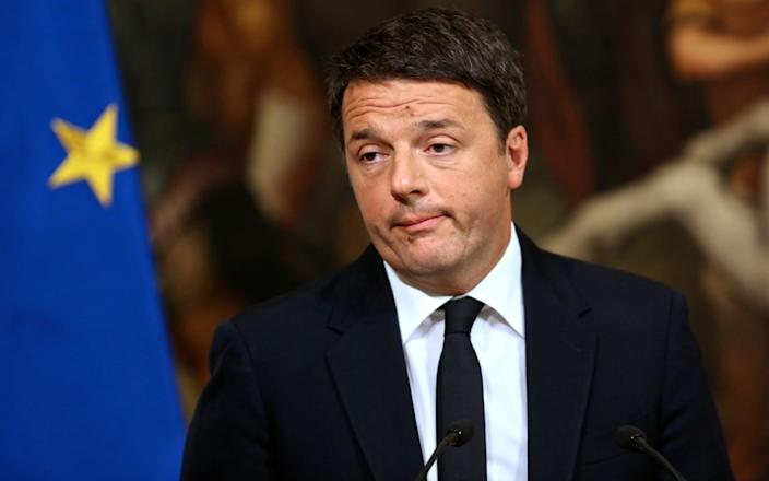 Matteo Renzi has been threatening for weeks to withdraw his support for the coalition - Shutterstock
