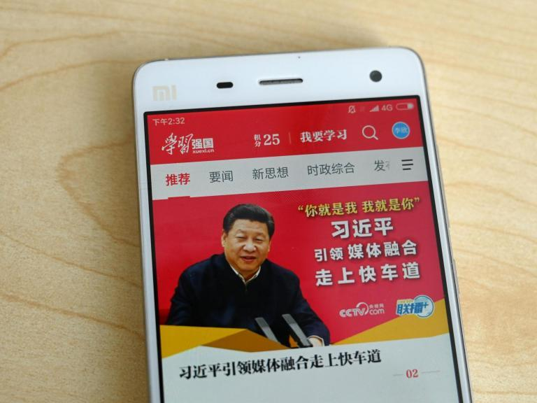 China 'forces millions of people' to download app and earn points by following President Xi Jinping news