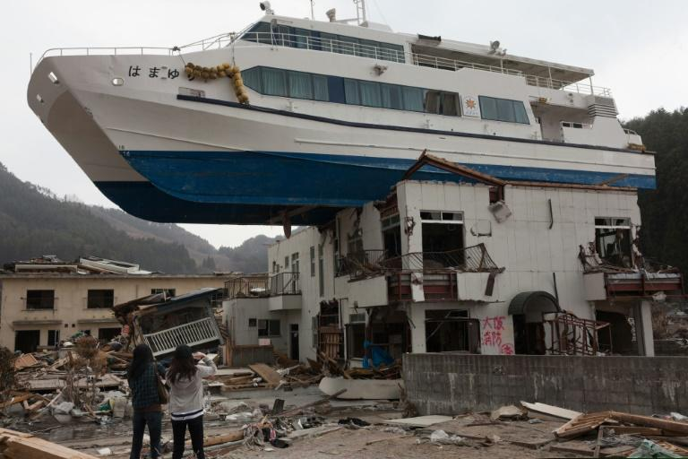 The aftermath of the devastating 2011 tsunami in Japan's Iwate prefecture