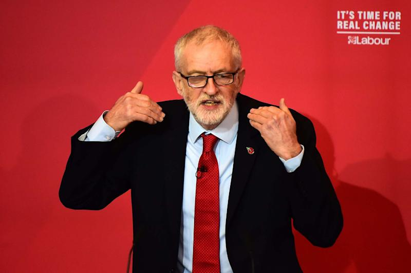Jeremy Corbyn has been hit by a series of blows: Getty Images