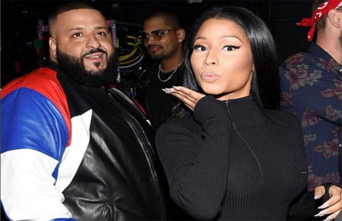 DJ Khaled Confirms Nicki Minaj Is on 'Grateful'