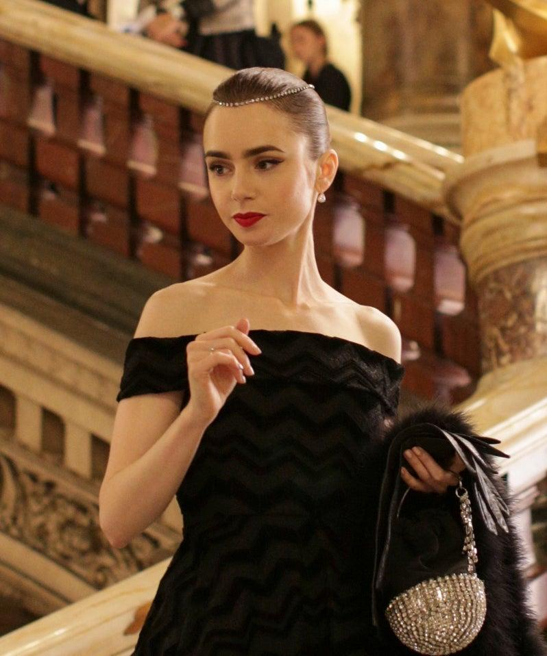 Emily In Paris Is An Audrey Hepburn Fantasy Of French-Girl Beauty