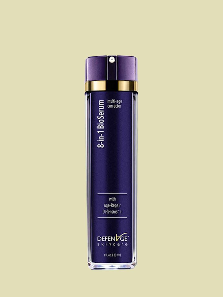 """<p>""""DefenAge 8-in-1 BioSerum<b> </b>is a thin, innovative serum that the stimulates growth of healthier, firmer cells to improve the appearance of pores and fine lines,"""" says&nbsp;Dr. Anne Chapas, MD, of <a href=""""https://www.unionderm.com/"""">Union Square Laser Dermatology</a>.&nbsp;I also like SkinMedica Retinol Complex 0.5. Retinol is a star ingredient that can get deep into your dermis to stimulate collagen production. With consistent use over time, it has been scientifically proven to reduce fine lines, wrinkles, and even out skin tone.""""</p><p><em><strong>Shop Now: </strong>DefenAge 8-in-1 BioSerum, $220, <a href=""""https://defenage.com/step-three-8-in-1-bioserum.html"""">defenage.com</a>; SkinMedica Retinol Complex 0.5, $78, <a href=""""http://www.anrdoezrs.net/links/7799179/type/dlg/sid/MSL,TheseAretheAnti-AgingProductsNineDermatologistsLove,jcumberb,Bea,Gal,1538746,201904,I/https://www.dermstore.com/product_Age+Defense+Retinol+Complex+25_55450.htm"""" data-unprocessed-href=""""https://www.dermstore.com/product_Age+Defense+Retinol+Complex+25_55450.htm"""" data-ecommerce=""""true"""" target=""""_blank"""" rel=""""nofollow"""" data-tracking-affiliate-name=""""www.dermstore.com"""" data-tracking-affiliate-link-text=""""dermstore.com"""" data-tracking-affiliate-link-url=""""https://www.dermstore.com/product_Age+Defense+Retinol+Complex+25_55450.htm"""" data-tracking-affiliate-network-name=""""CJ Deep Link"""">dermstore.com</a></em>.</p>"""