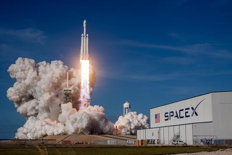 SpaceX Falcon Heavy Launch
