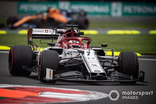 "Kimi Raikkonen, Alfa Romeo Racing C38 <span class=""copyright"">Simon Galloway / Motorsport Images</span>"