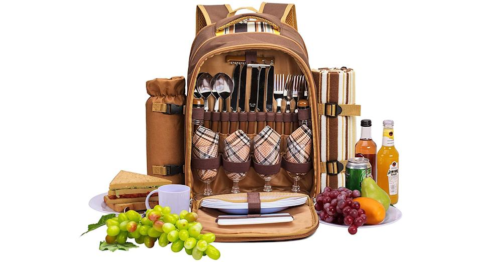 apollo walker 4 Person Picnic Backpack Hamper