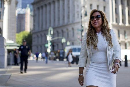 FILE PHOTO: New York financier Tilton arrives for an appeal hearing at the U.S. District courthouse in New York