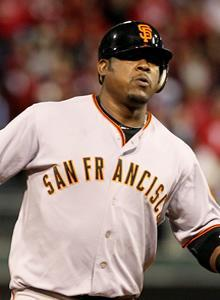 Juan Uribe ran the bases the memory of his cousin, Jose Uribe, deep in his heart