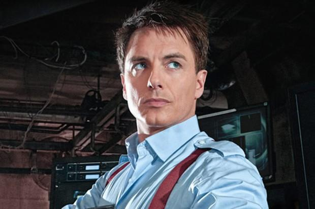 John Barrowman as Captain Jack Harkness (Credit: BBC)