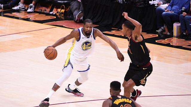 Kevin Durant got all the affirmation from his peers a superstar could want