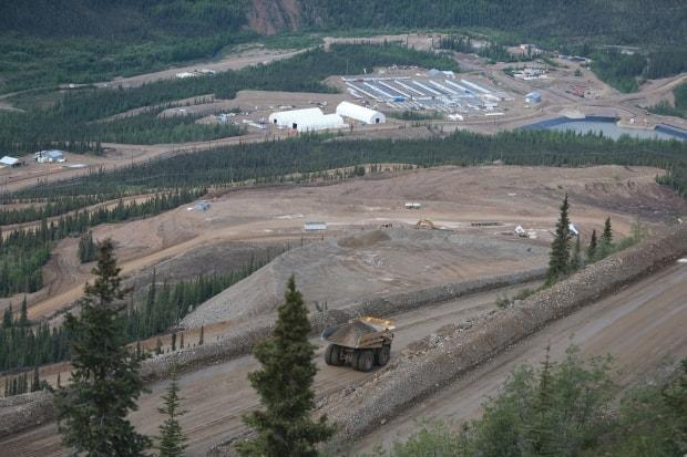 The Eagle Gold Mine, which is roughly 85 kilometres from Mayo, Yukon. The company behind the mine, Victoria Gold, wants to double down on mineral exploration. (Mike Rudyk/CBC - image credit)