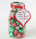 Simple and definitely sweet, a jar stuffed with chocolates will definitely be appreciated. [Photo: Pinterest]