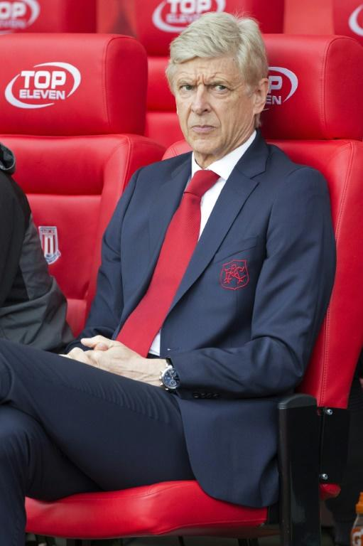 Arsenal's manager Arsene Wenger was left fuming by two failed penalty appeals during their English Premier League match against Stoke City, at the Bet365 Stadium in Stoke-on-Trent, on August 19, 2017