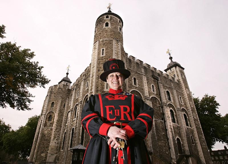 Britain's Crown Jewels are housed at the Tower of London (AFP Photo/Shaun Curry)