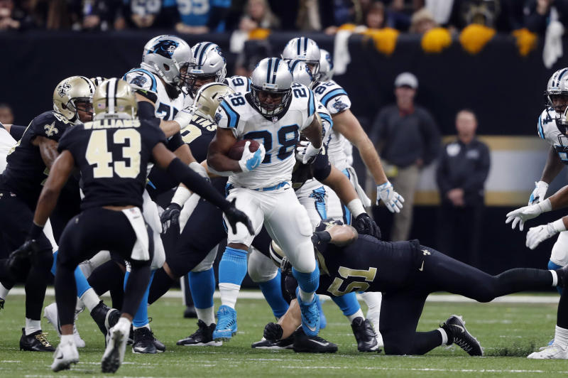 Ex-Panthers RB Stewart to sign with Giants