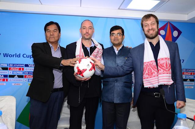 The preparations at the Indira Gandhi stadium in the capital of Assam has pleased the FIFA inspection committee...