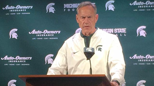 Mark Dantonio is trying to fix Michigan State, both on and off the field.